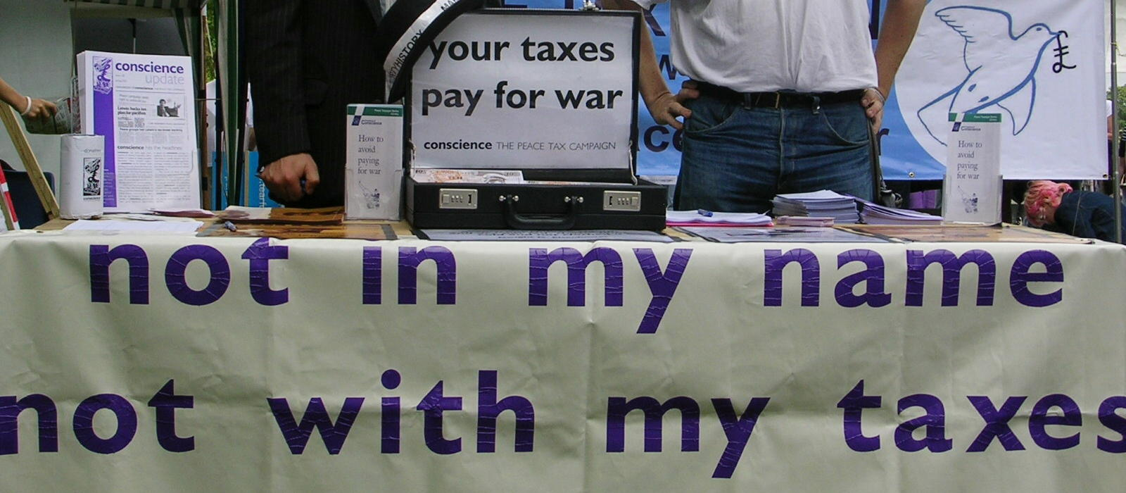 not with my taxes