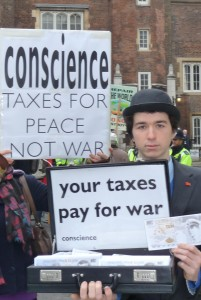 Taxman Tom at the Afghanistan Conference 2010