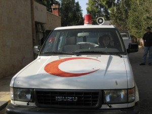 The Syrian Army Red Crescent